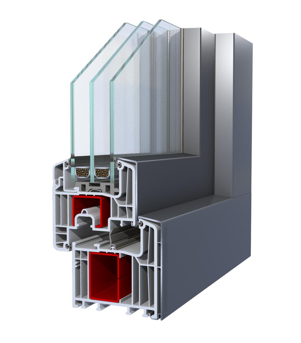 Kunststoff alu fenster for Alu kunststofffenster